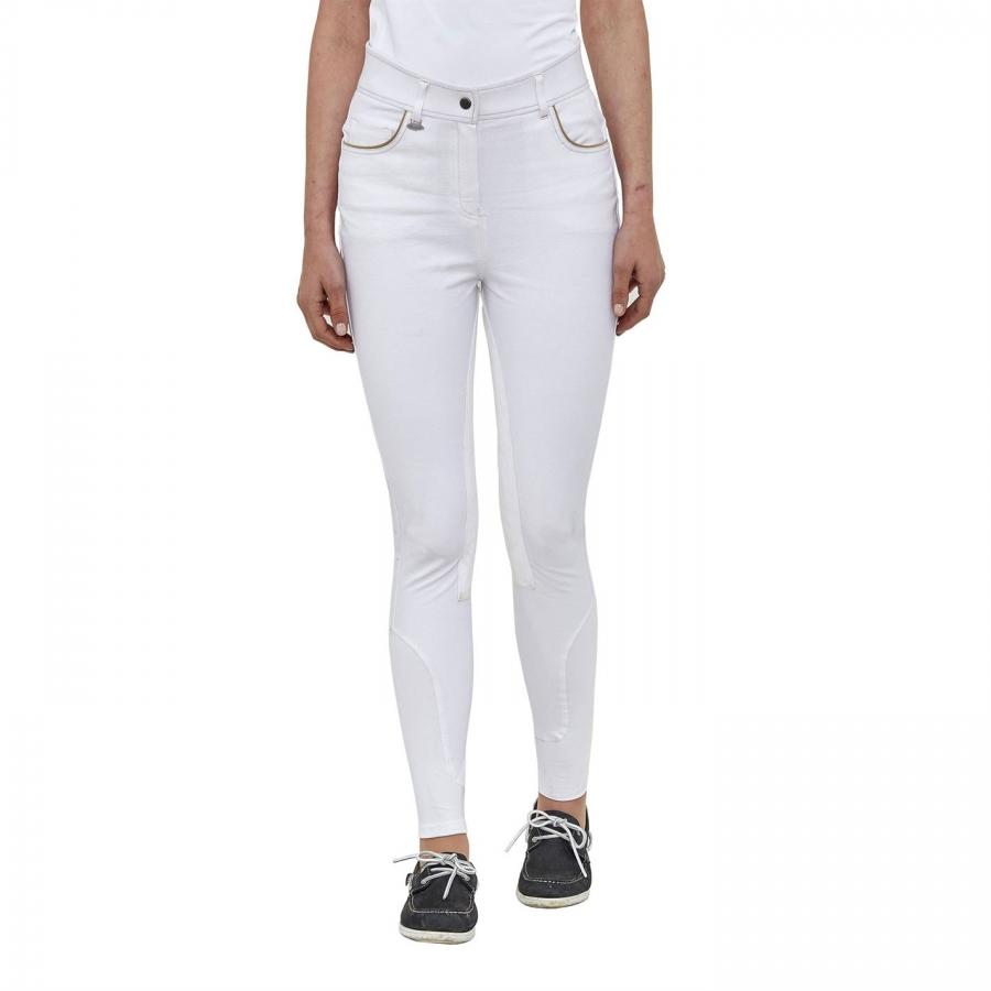 bdb46b506f435 NOWE! Białe bryczesy konkursowe Toggi rozmiar 34, pełny lej ...