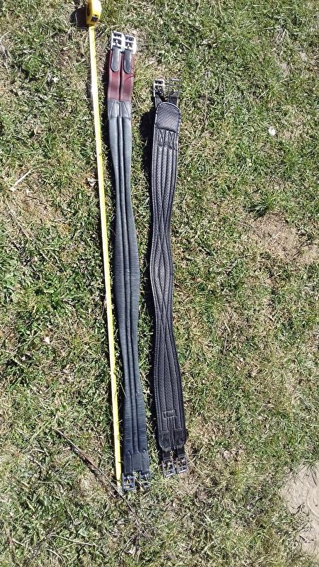 f5744b2006a03 Popręg profilowany skórzany 135 cm :: Ogłoszenia re-volta.pl